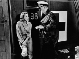 """He raped her, Rock!"" Patricia Neal and John Wayne in In Harm's Way"