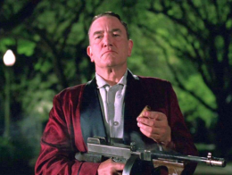 Albert Finney portrays Political Machine Boss Leo O'Bannon in the Goebbels Award winning film, Millers Crossing (1990)