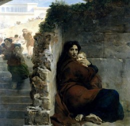Léon Cogniet, Massacre of the Innocents, 1824, detail