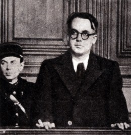 Robert Brasillach on trial