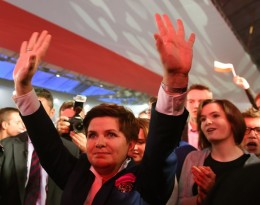 Beata Szydlo of the Polish Law and Justice Party