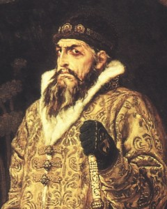 Viktor Vasnetsov, Ivan the Terrible, detail, 1897
