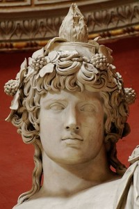 Antinous as Dionysos-Osiris, 2nd century, Vatican Museum
