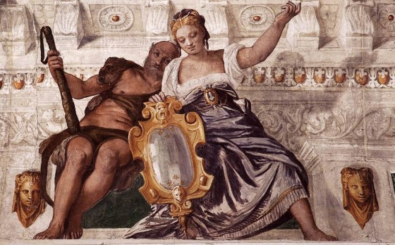 Paolo Veronese, Prudence and Manly Virtue, between 1560 and 1561, Villa Barbaro, Maser, Veneto
