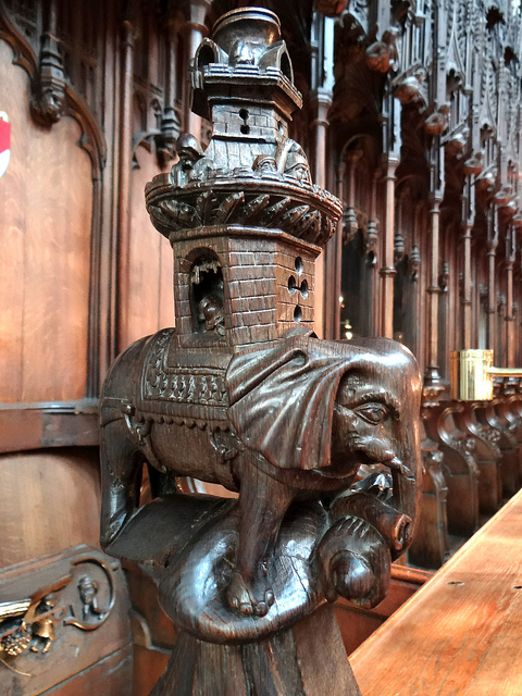 Figure 14: Ripon Cathedral Elephant