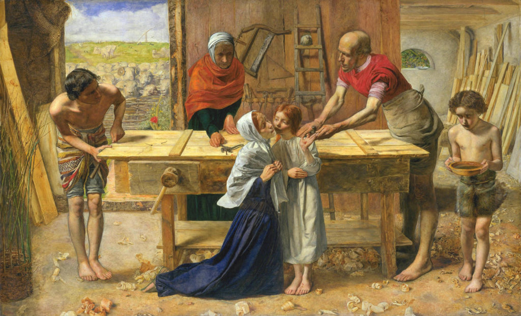 John_Everett_Millais_-_Christ_in_the_House_of_His_Parents_(`The_Carpenter's_Shop')_-_Google_Art_Project (1)