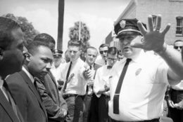 Laurie Pritchett and Martin Luther King