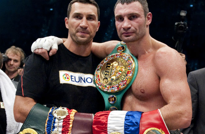 The Klitschko brothers