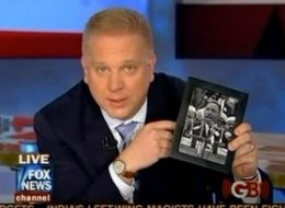 "Above, Glenn Beck praises MLK's ""true conservative"" values."