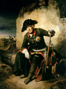 Julius Schrader, Frederick the Great after the Battle of Kolin