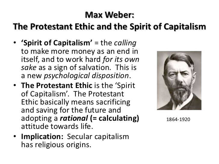 protestant work ethic essays The protestant ethic and the spirit of capitalism ( german : die protestantische ethik und der geist des kapitalismus ) is a book written by max weber .