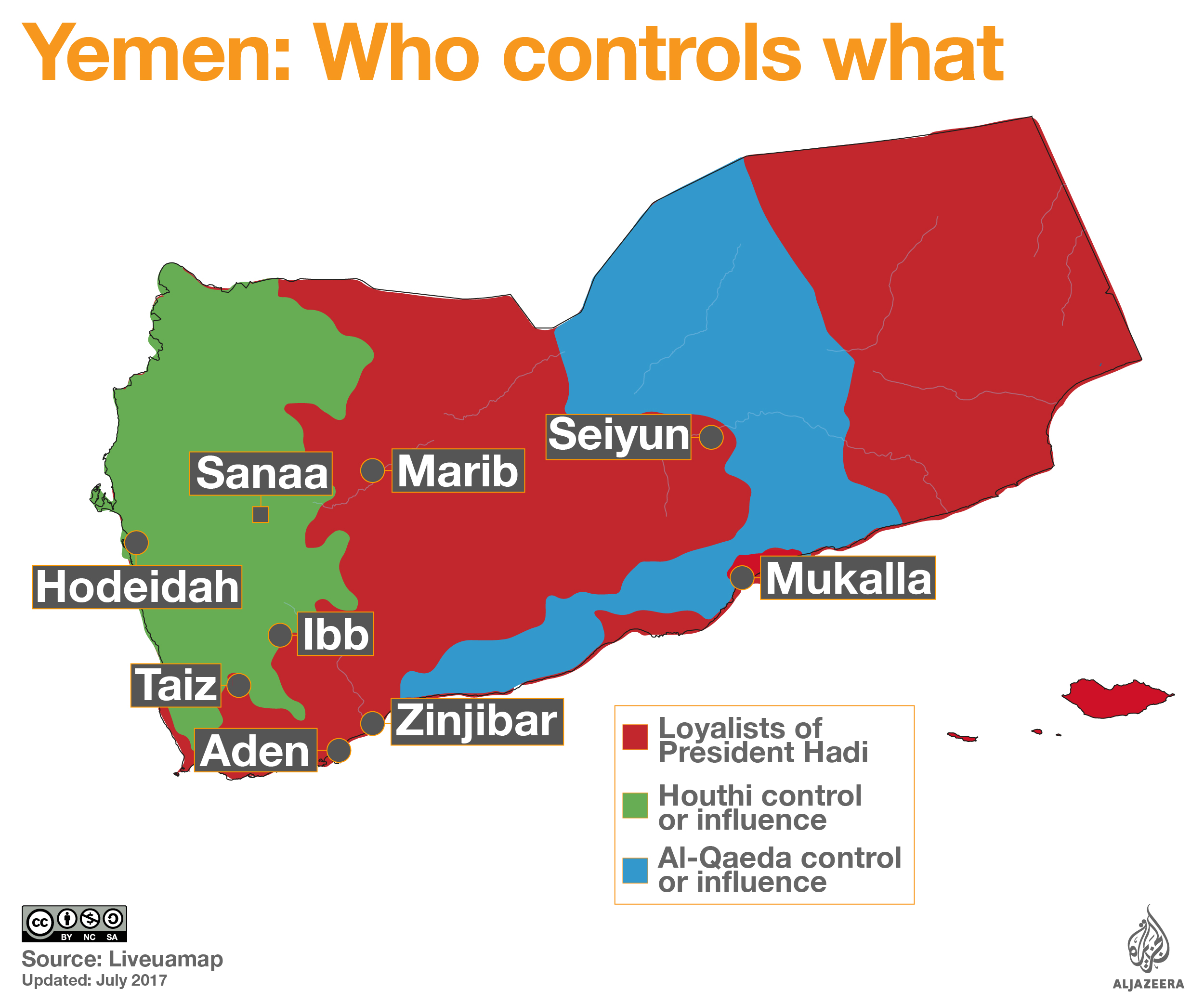 CounterCurrents Radio Weekly Patrick Le Brun On The Civil War In - Map of yemen